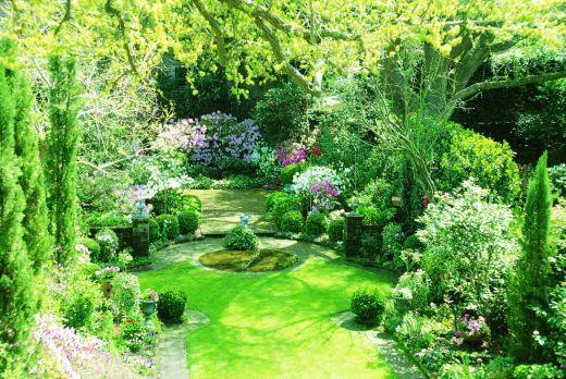 Credo che, per alcuni di noi, l'immagine di un giardino come questo