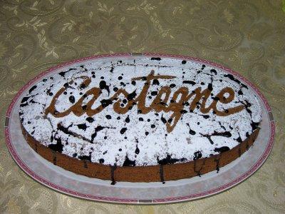 Ricetta biscotti torta dolce di castagne for Dolce di castagne