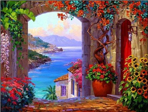Sfacciata bellezza, i colori d'estate si esibiscono senza riserve
