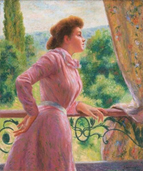donna  al  balcone