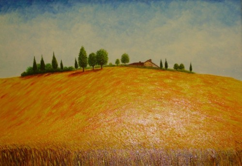 Campagna-Toscana-con-grano